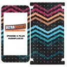 Skin Decal Sticker Wrap 3M Vinyl For iPhone 6/6S Plus Seamless Pattern Poligoa