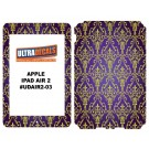 Ultradecal iPad Air 2 Skin Wrap Decal Printed Sticker 3M Vinyl - Royal Purple