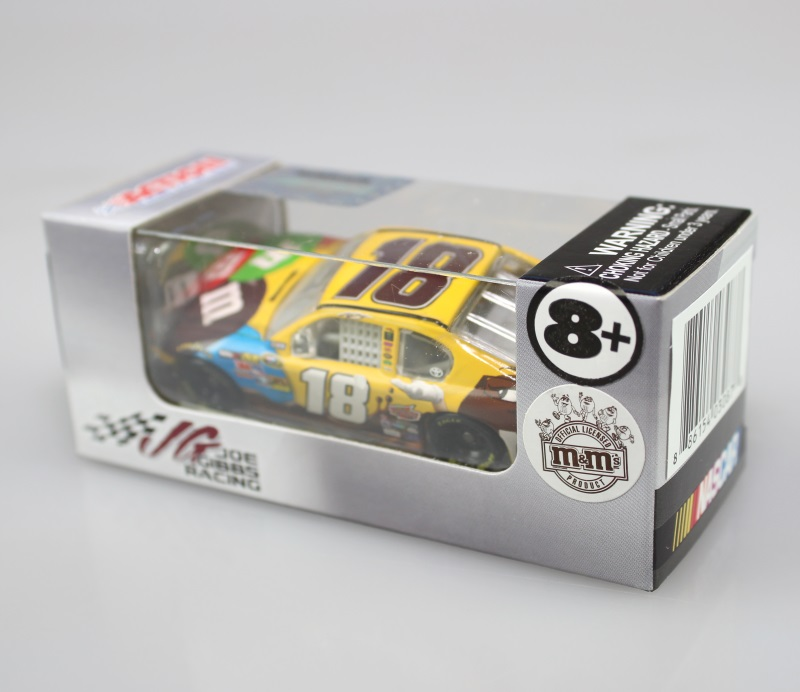 lionel 1 64 scale kyle busch m m 39 s ms brown toyota camry stock car diecast ebay. Black Bedroom Furniture Sets. Home Design Ideas